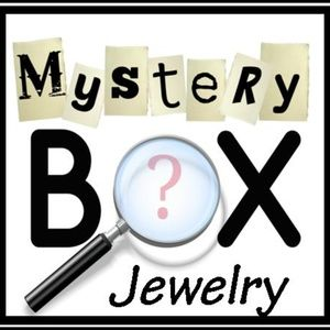 Jewelry Mystery Box 2 Necklaces 3 pair of earrings